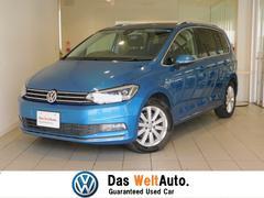 VW ゴルフトゥーランTSI ハイライン サンルーフ 弊社下取り 認定中古車