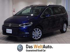 VW ゴルフトゥーランTDI ハイライン 純正ナビ デモカー