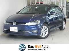 VW ゴルフTSIコンフォートライン 純正SDナビ 認定中古車