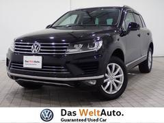 VW トゥアレグV6アップグレードパッケージ シートヒーター 認定中古車