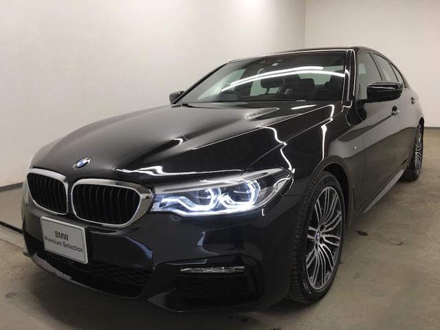 BMW 523i Mスポーツ 衝突被害軽減B トップビュー LED