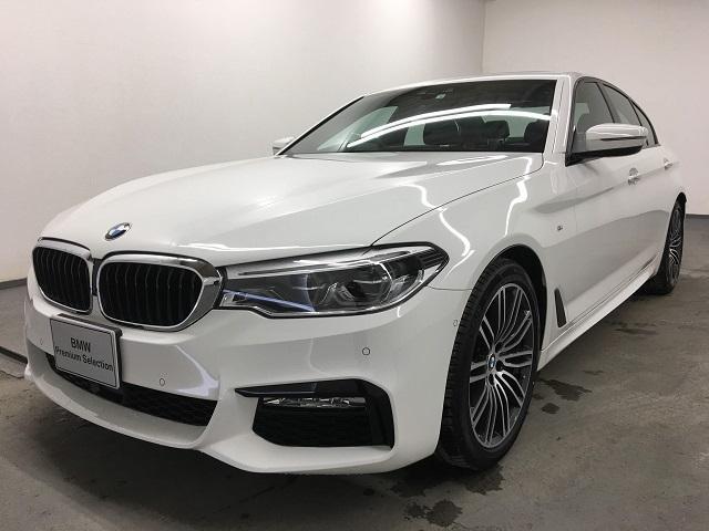 BMW 530i Mスポーツ ナビ トップビュー イノベーションP