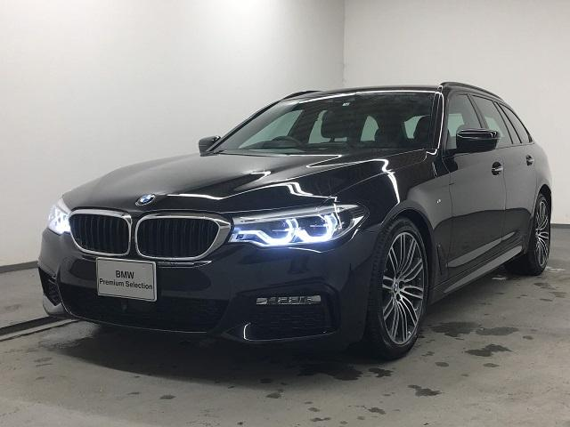 BMW 5シリーズ 523dツーリング Mスポーツ 正規認定中古車 メーカー保証2年付 全国納車可能 アクティブクルーズコントロール レーンキープアシスト