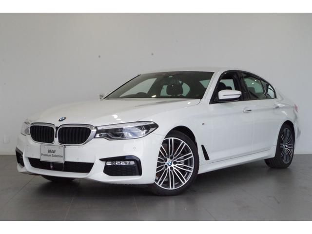 BMW 5シリーズ 523i Mスポーツ 弊社デモカー 正規認定中古車 メーカー保証2年付 全国納車可能 アクティブクルーズコントロール レーンキープアシスト