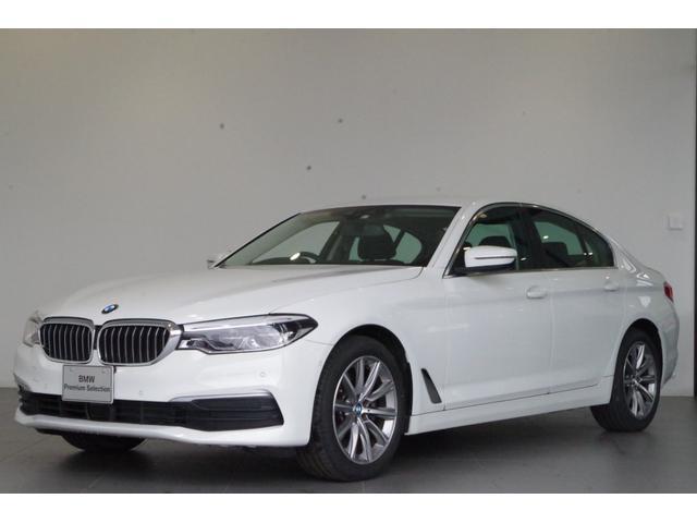 BMW 5シリーズ 523d 正規認定中古車 2年保証 HDDナビ リアビューカメラ LEDヘッドライト アクティブクルーズコントロール ドライビングアシストプラス 18インチアロイホイール