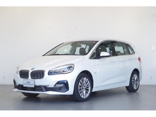 BMW 218dグランツアラー ラグジュアリー 2年保証 バックモニター 障害物センサー コンフォートアクセス 電動フロントシート シートヒーター 純正ナビ
