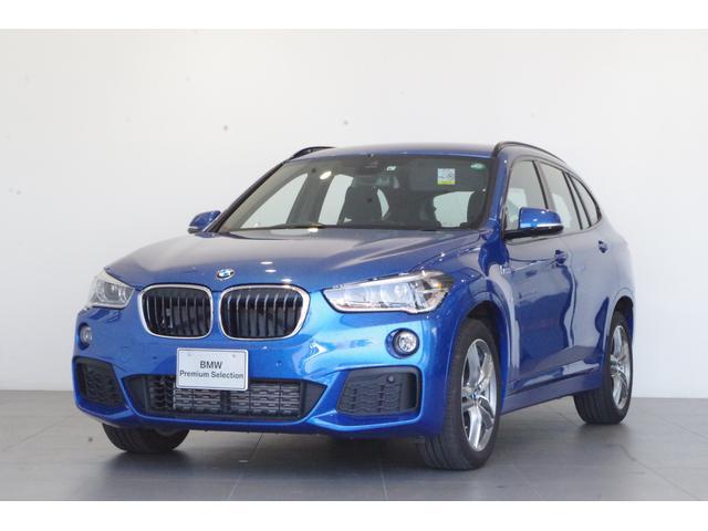 BMW X1 xDrive 18d Mスポーツ コンフォートPKG パーキングアシスト ETC 専用アルカンターラシート シートヒーター 純正HDDナビ LEDヘッドライト