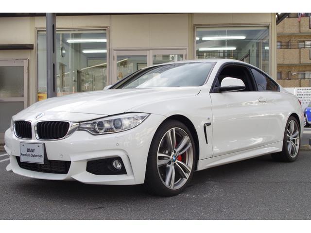BMW 4シリーズ 435iクーペ Mスポーツ 正規認定中古車 サンルーフ フルセグTV 純正HDDナビ 純正19インチアルミホイール Mパフォーマンスブレーキキャリパー