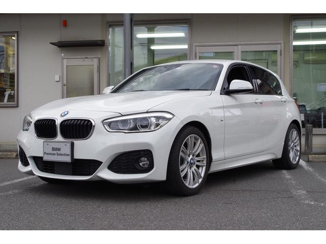 BMW 1シリーズ 118i Mスポーツ 正規認定中古車 アクティブクルーズコントロール 純正HDDナビ バックカメラ リアコーナーセンサー 純正17インチアルミホイール