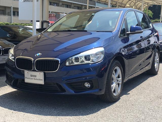 BMW 218dアクティブツアラー パーキングサポートパッケージ
