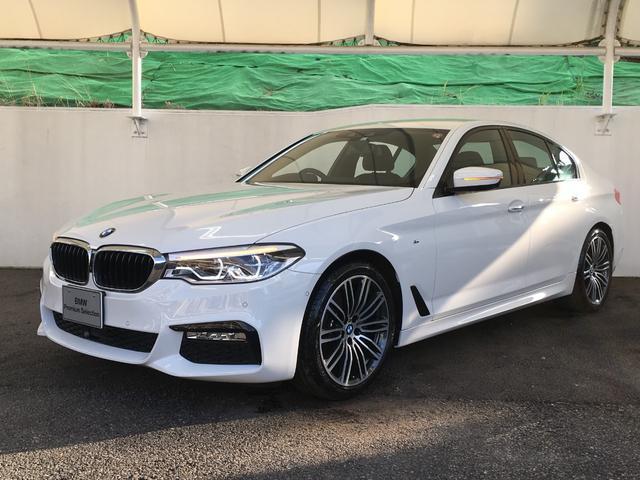 BMW 523i Mスポーツ イノベーションPKG HUD ACC 正規認定中古車 弊社デモカー 2年保証