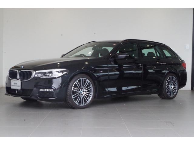 BMW 523iツーリング Mスポーツ 正規認定中古車 2年保証 弊社デモカー 19インチアロイホイール イノベーションパッケージ HDDナビ トップビューカメラ アダプティブLEDヘッドライト アクティブクルーズコントロール