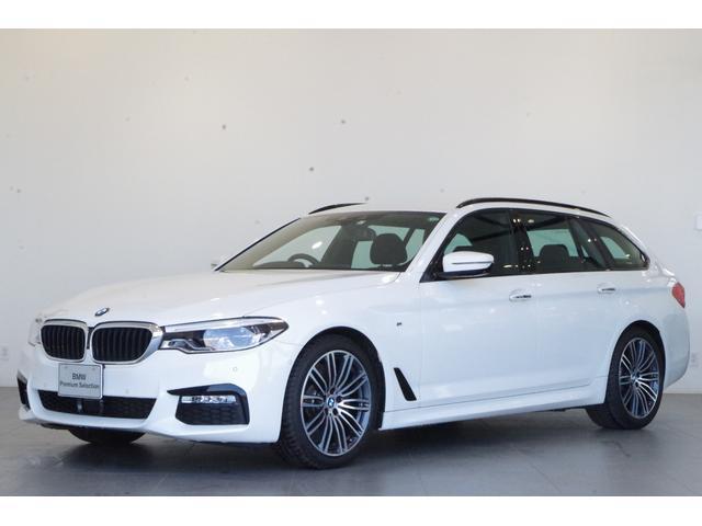BMW 5シリーズ 523dツーリング Mスポーツ 純正HDDナビ 追従クルコン 全方位カメラ 衝突被害軽減ブレーキ フルセグTV バックカメラ ヘッドアップディスプレイ パーキングアシスト