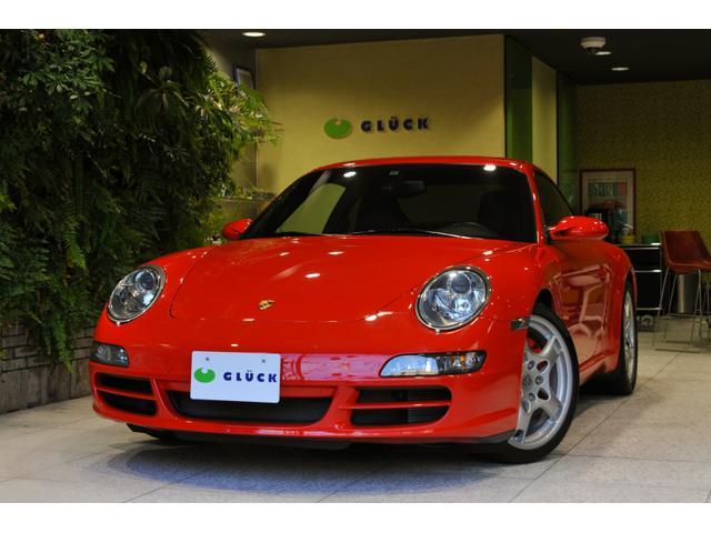 ポルシェ 911カレラS HDDナビゲーション レザーシート パワーシート 本革巻きステアリング キセノンヘッドランプ