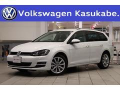 VW ゴルフヴァリアントTSIハイライン 純正ナビ バックカメラ ETC 認定中古車