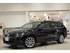 VW ゴルフヴァリアントTSIハイライン 純正ナビ ETC リアカメラ 認定中古車