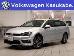 VW ゴルフヴァリアントRラインブルーモーションテクノロジー 革シート 認定中古車