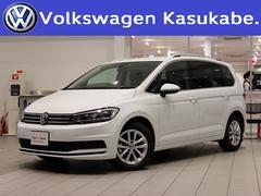 VW ゴルフトゥーランTSI コンフォートライン 登録済未使用 純ナビ 認定中古車
