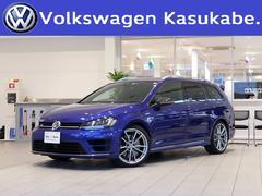VW ゴルフRヴァリアントカーボンスタイル 限定車 衝突軽減 Pシート 認定中古車
