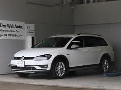 VW ゴルフオールトラックTSI 4モーション 衝突軽減 LED Rカメラ 認定中古車