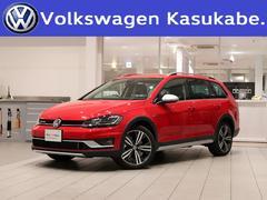 VW ゴルフオールトラックTSI 4モーション 登録済未使用車 衝突軽減 認定中古車