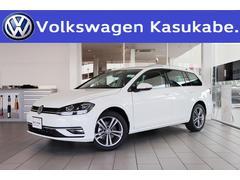 VW ゴルフヴァリアントTDI ハイライン マイスター 衝突軽減 登録済未使用車