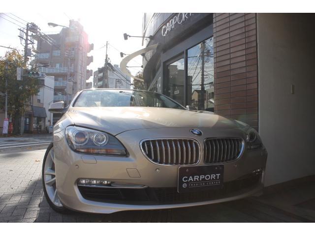 BMW 650iカブリオレ 白革 コンフォートプラスPKG 1オナ
