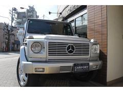 M・ベンツG320 黒革 サンルーフ 同色バンパー