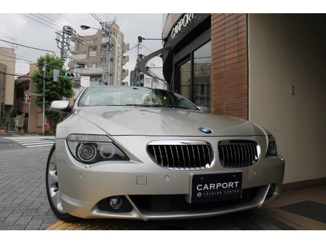 BMW 650iカブリオレ ベージュ革 19アルミ HDDナビ