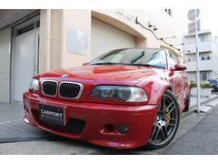 BMWM3クーペ 右ハンドル 黒革 社外バンパーマフラー