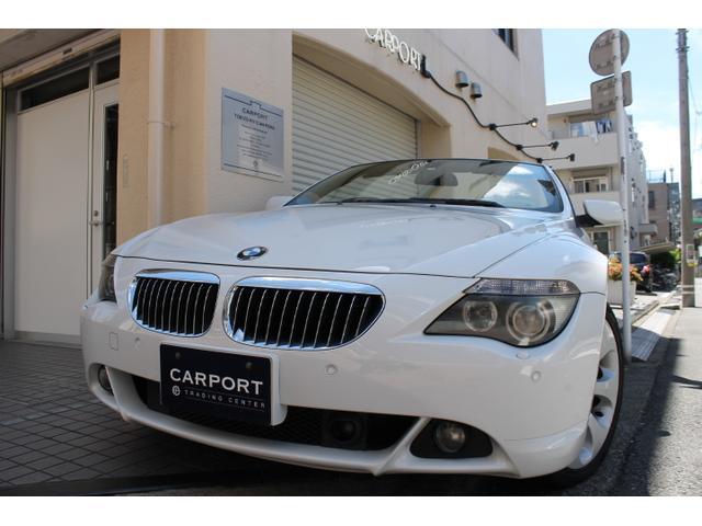 BMW 650iカブリオレ ベージュ革 右ハンドル 19AW 地デジ