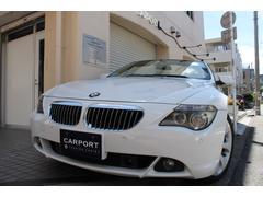 BMW650iカブリオレ ベージュ革 右ハンドル 19AW 地デジ