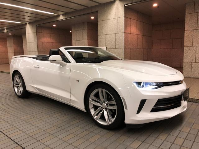シボレー コンバーチブル LT RS 2018年ディーラー車 保証継承