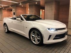 シボレー カマロコンバーチブル ディーラー車 アップルカープレー ETC