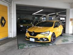 メガーヌR.S.トロフィー MT ETC 記録簿 右ハンドル 新車保証継承
