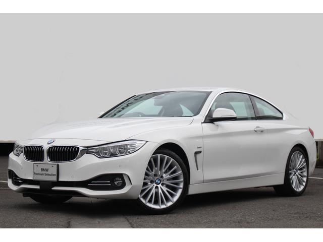 BMW 435iクーペ ラグジュアリー 黒革 ACCストップ&ゴー