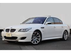 BMWM5 ワンオーナー 黒革 純正19AW ガラスSR 地デジ