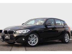 BMW118i Mスポーツ 黒革 クルコン 純正17AW LED