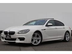 BMW640iグランクーペ 黒革 ガラスSR 純正19AW LED