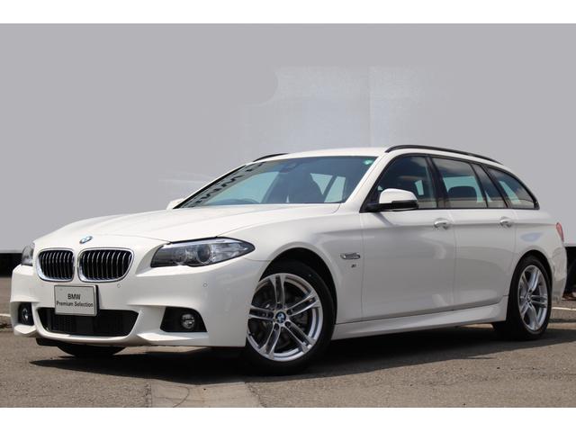 BMW 523iツーリング Mスポーツ ブラックレザー LEDフォグ