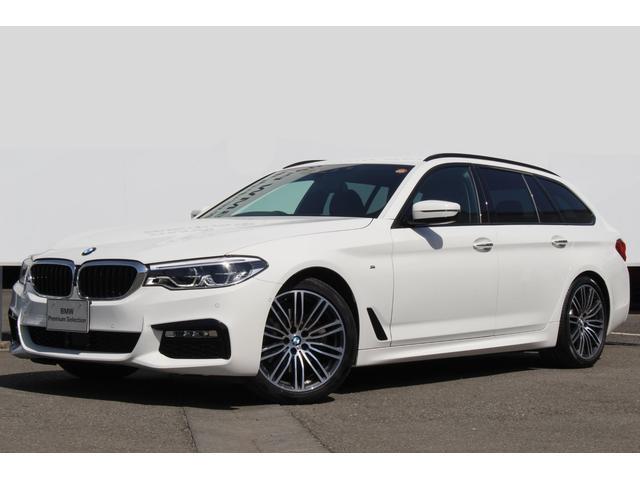 BMW 523dツーリング Mスポーツ ワンオーナー 純正19AW