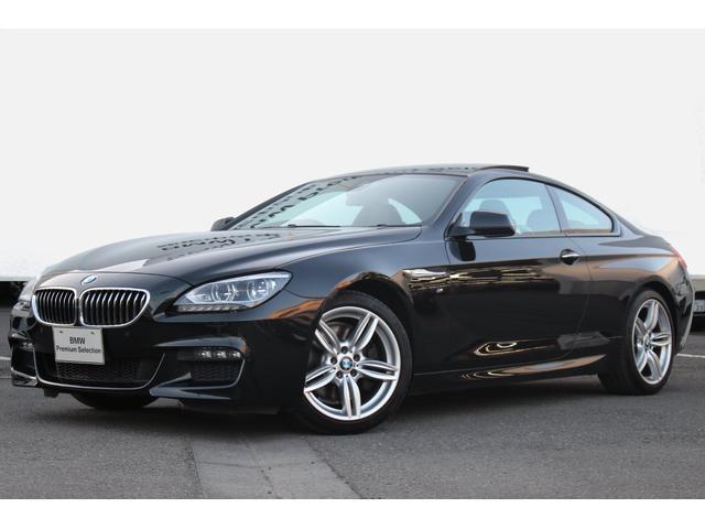 BMW 640iクーペ Mスポーツ プラスPKG 黒革 純正19AW