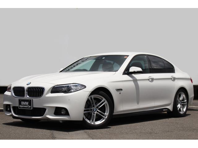 BMW 523d Mスポーツ ワンオーナー 黒革 LEDフォグ