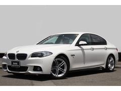 BMW523d Mスポーツ ワンオーナー 黒革 LEDフォグ
