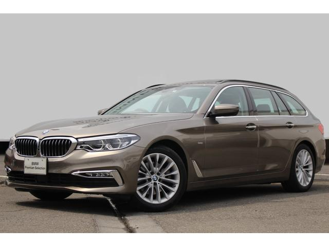 BMW 523dツーリング ラグジュアリー イノベーションP 黒革