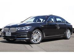 BMW740Ld xDrive エクセレンス 黒革 リヤエンター