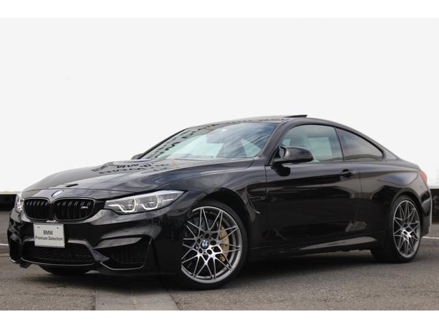 BMW M4クーペ コンペティション カーボンセラミックBガラスSR
