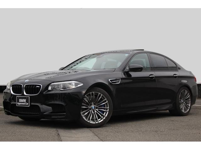 BMW M5 後期型 ワンオーナー 黒革 19AW LED SE