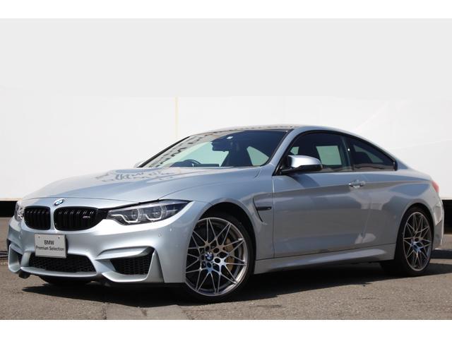 BMW M4クーペ コンペティション Mサス カーボンB 黒革