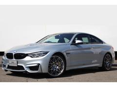 BMWM4クーペ コンペティション Mサス カーボンB 黒革